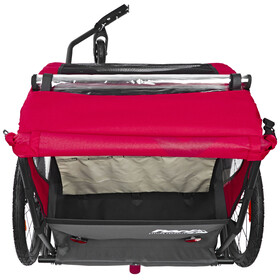 Red Cycling Products PRO Kids BikeTrailer - Remorque vélo - gris/rouge
